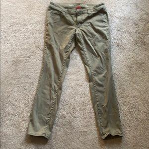 Merona Women's Olive Green Jeans